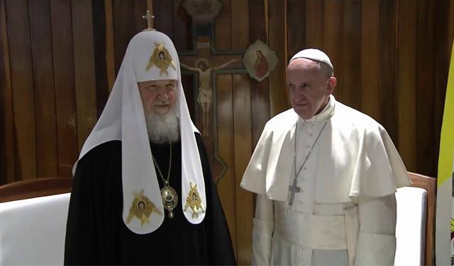 SA KUBE U ISTORIJU: Papa i Kiril veći od Velike šizme