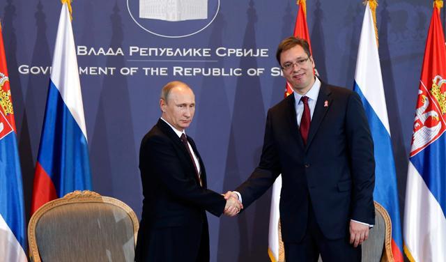 Putinova kazna Srbiji