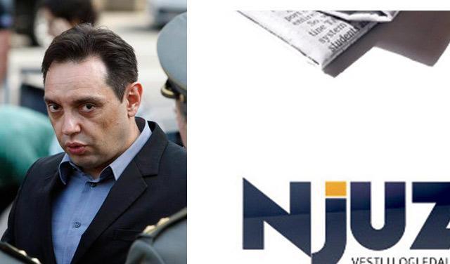 Vulin odgovorio Njuz.netu!