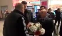 Cveće za košarkaše Partizana u Turskoj