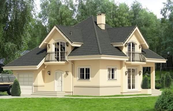 Montažna kuća ima za skoro 10 posto veću neto korisnu površinu od ...