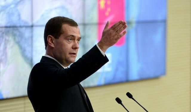 CHINA-ANHUI-RUSSIA-DMITRY MEDVEDEV-VISIT (CN)