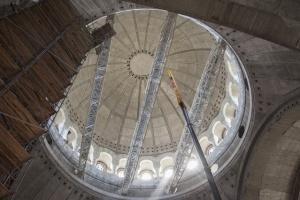 Počeli pripremni radovi na izradi unutrašnje mozaične dekoracije u Hramu svetog Save