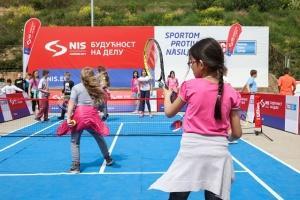 """Akcija """"Sportom protiv nasilja"""" u Beogradu"""