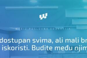 Webiz poslovna edukacija: 18 sati predavanja, preko 20 predavača i odmor na Zlatiboru u junu