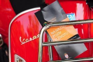 "Vespin 70.rođendan uz kampanju ""Produži život"""