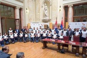 Predstavljen Paraolimpijski tim Srbije