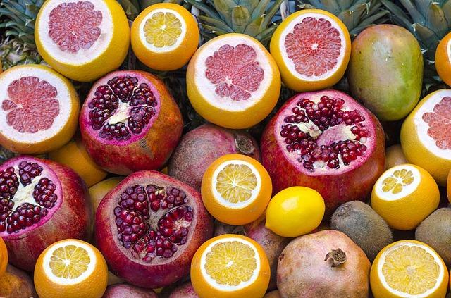 voće, nar, pomorandža, limun_pixabay