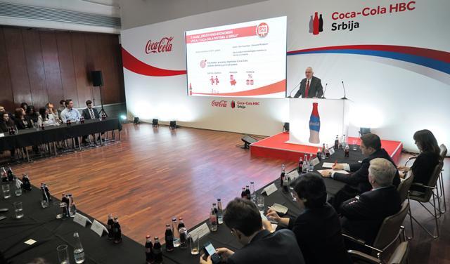 Predstavljanje studije o drustveno ekonomskom uticaju Coca-Cola sistema ...