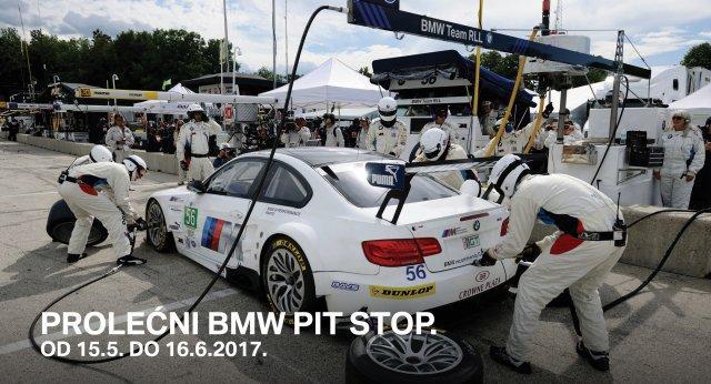 Prolecni BMW PIT STOP