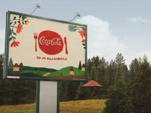 Prvi rucno radjeni Coca-Cola bilbord