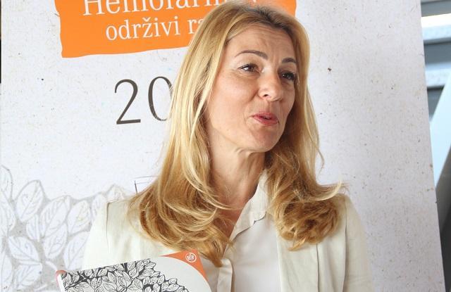 anda Savić, direktorka korporativnih poslova i komunikacija u Hemofarmu