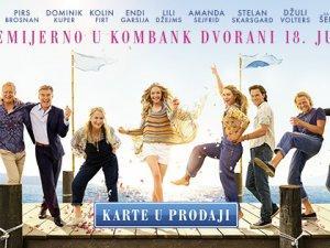 """Premijera muzičke komedije """"Mama Mia! Idemo ponovo"""" u Kombank dvorani"""