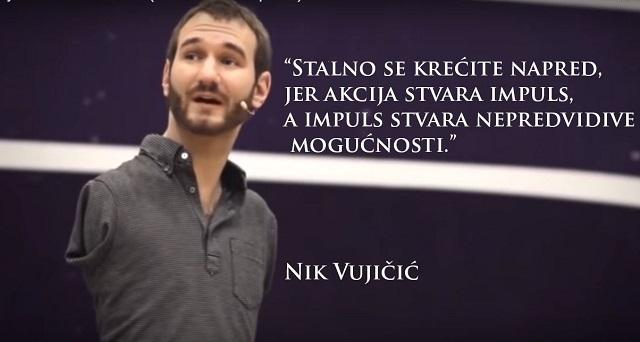 Nik Vujičić,skrinšot