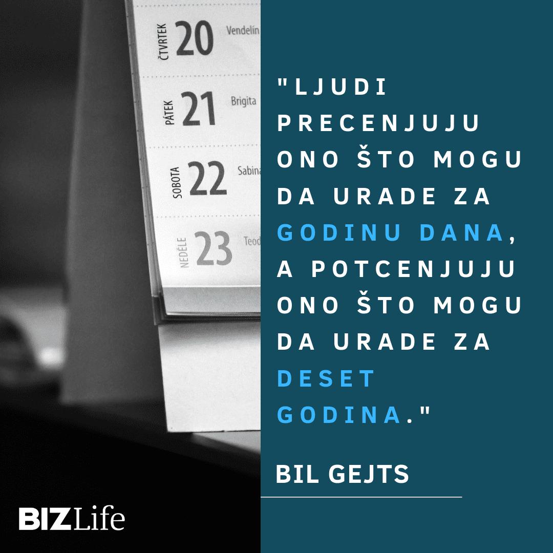 BIL GEJTS_VREME